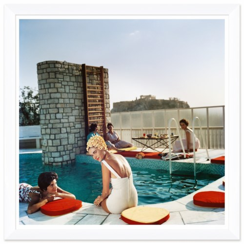 """Getty Images """"Penthouse Pool,"""" Slim Aarons, July 1, 1961"""