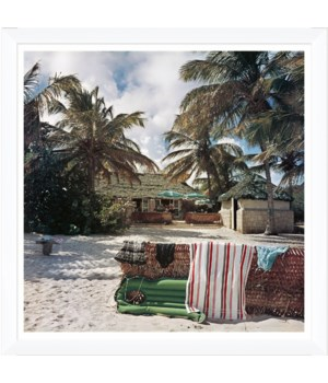 "Getty Images ""Antigua Beach Club,"" Slim Aarons, January 1, 1960"