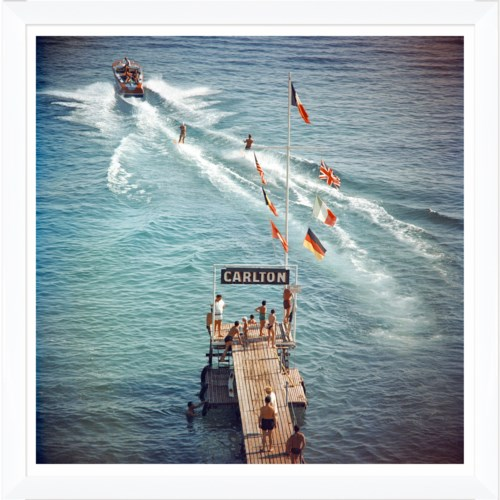 "Getty Images ""Cannes Watersports,"" Slim Aarons, January 1, 1958"