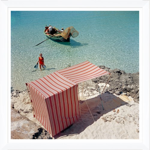 "Getty Images ""Marietine Birnie, Blau Lagoon,"" Slim Aarons, July 1, 1959"