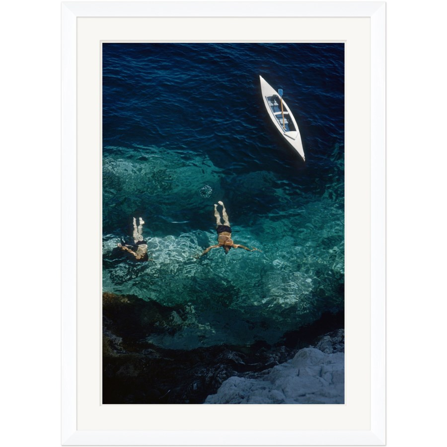 """Getty Images """"Capri Holiday,"""" Slim Aarons, January 1, 1958"""