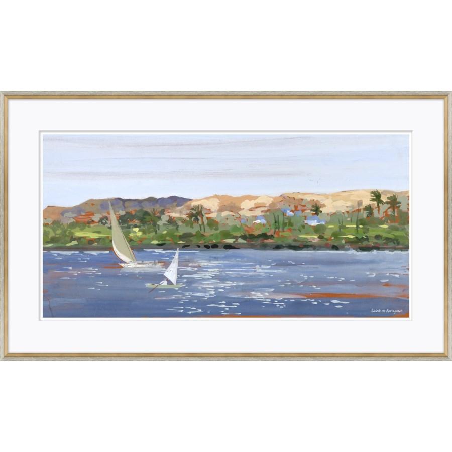 Sailboats Nile River, Egypt Sketchbook