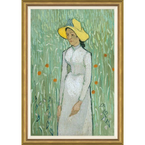 Girl in White by Vincent van Gogh, 1890