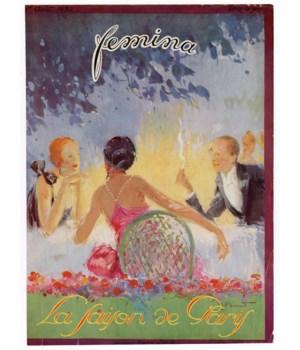 """Femina, August 1923"" Original Vintage French Magazine Cover"