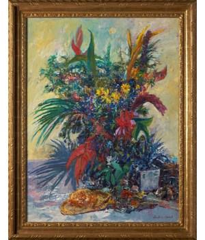 """""""Plantasia"""", Original Oil Painting by Anton Sipos"""