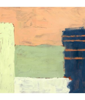 Contemporary Abstract Painting on Paper