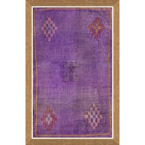 Moroccan Textiles - Purple