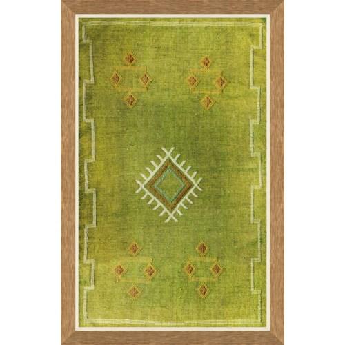 Moroccan Textiles - Green