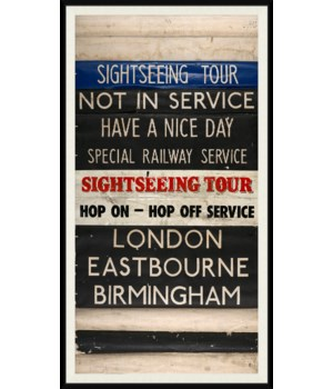 London Train Stop