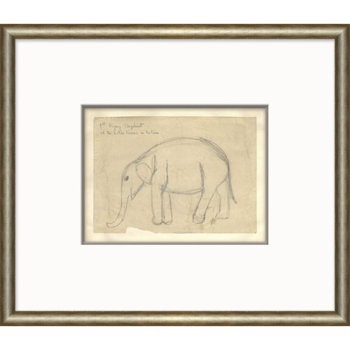 At the Zoo Sketch Series - Elephant