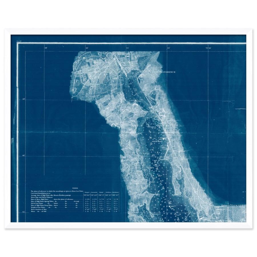 Narragansett Bay Map