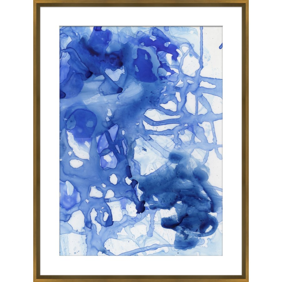 Large Blue Wash