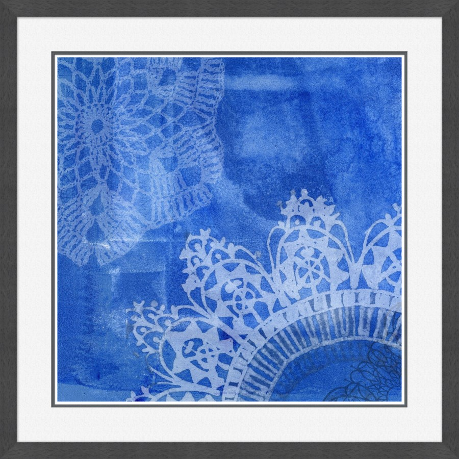 Blue with Pattern