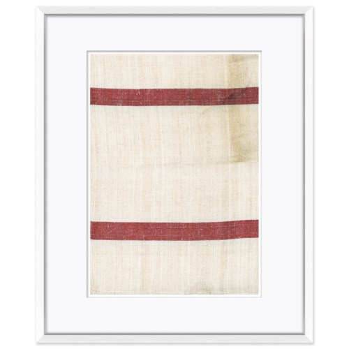 Vintage French Sack Cloth in Red