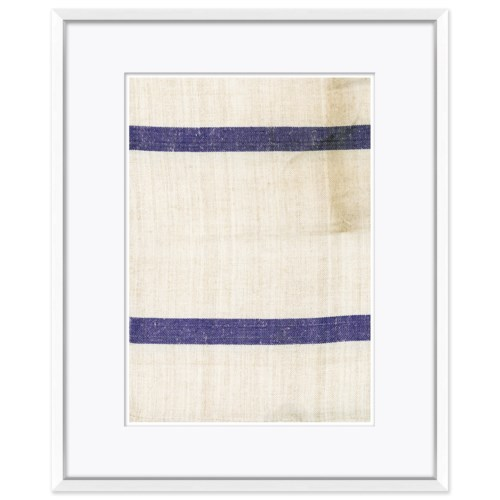 Vintage French Sack Cloth in Blue