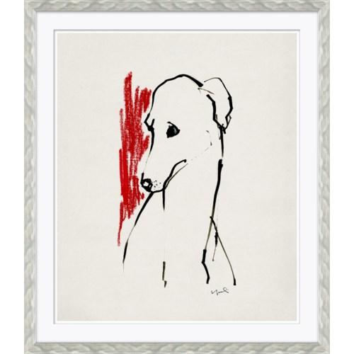 Greyhound Lineart