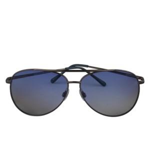 5443b217df MIGOR POLAR - GUNMETAL - SHINY BLUE   BLUE GRADIENT LENS