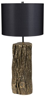 Soma Table Lamp with Shade, Brass