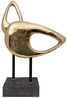 Sculpture B, Brass