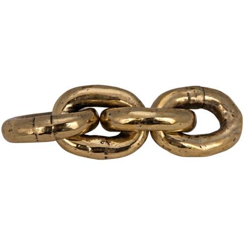 Brass Chain Paper Weight