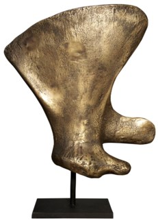 Z Whale Bone 86E, Brass