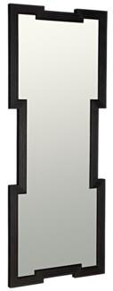 Maze Mirror, Charcoal Black