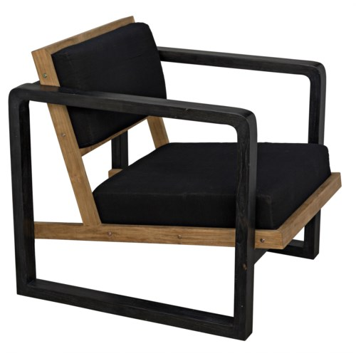 Mala Chair, Charcoal Black