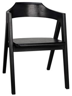 Anan Chair, Charcoal Black