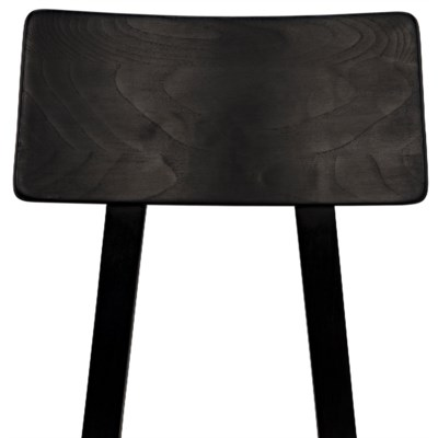 Kimi Chair, Charcoal Black