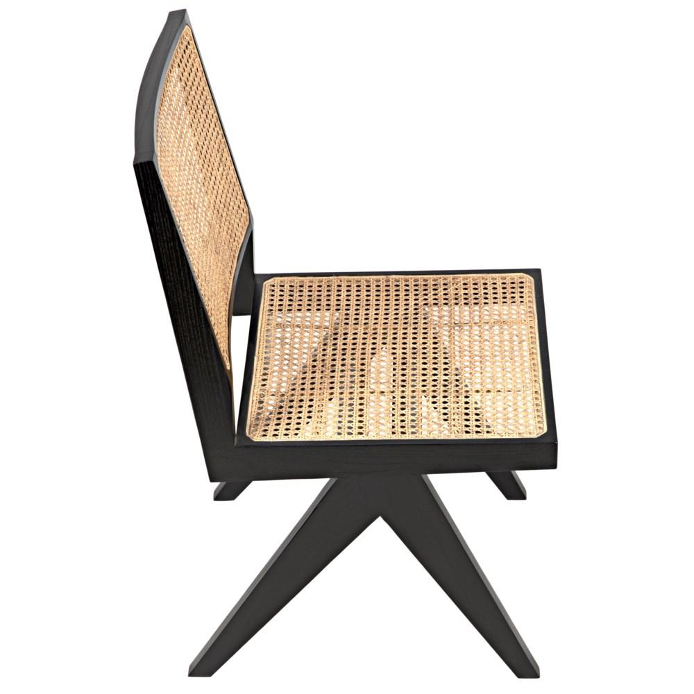 Joseph Side Chair, Charcoal Black