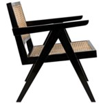 James Relax Chair, Charcoal Black