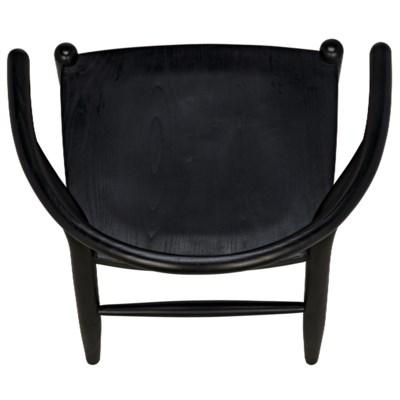Zola Chair, Charcoal Black