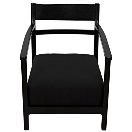 Churchill Chair, Charcoal Black
