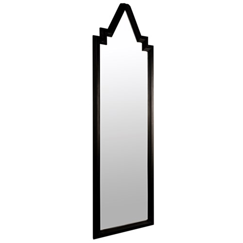 Rey Mirror, Charcoal Black