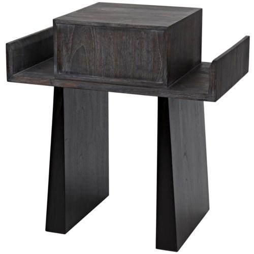 Sun Tsu Side Table, Sombre Finish