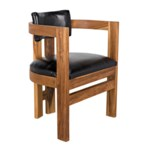 Bates Chair, Teak with Leather