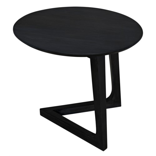Cantilever Table, Charcoal Black
