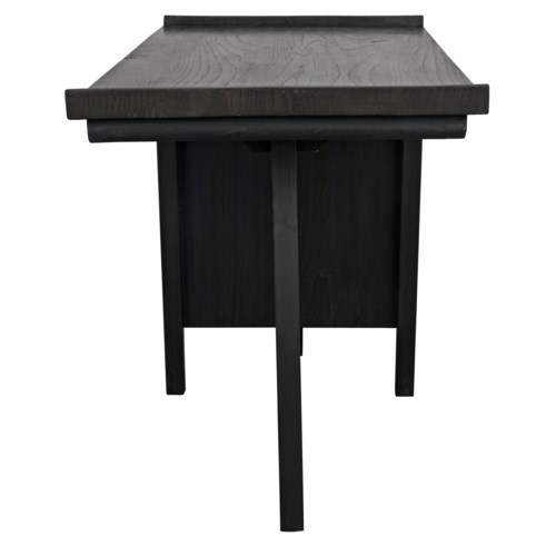 Kennedy Desk, Charcoal Black