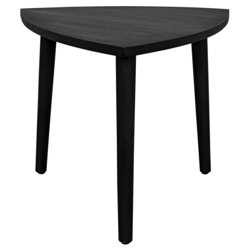 Reuleaux Coffee Table,Small, Charcoal Black