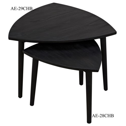 Reuleaux Coffee Table, Large, Charcoal Black