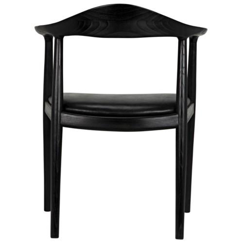 Dallas Chair, Charcoal Black