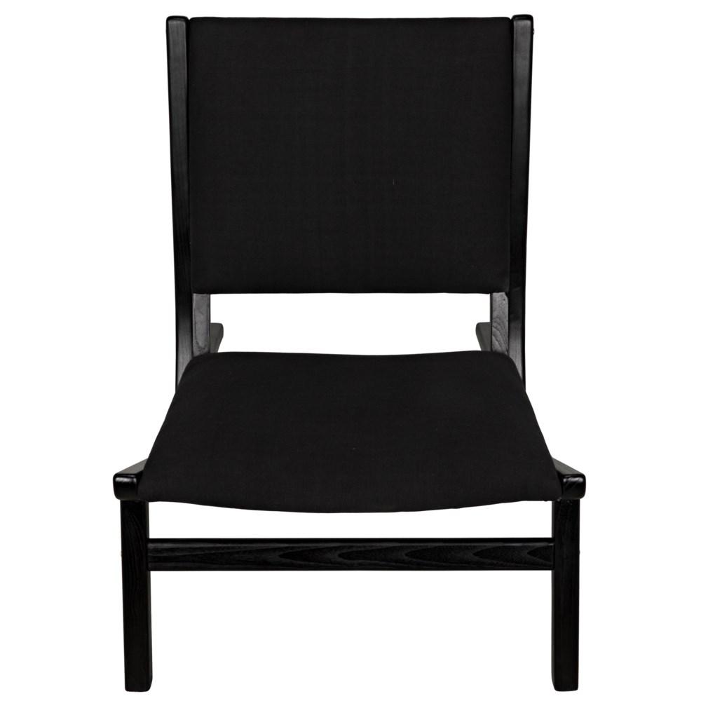 Boomerang Chair, Charcoal Black