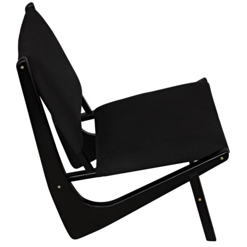 Boomerang Chair, Charcoal Black
