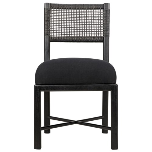 Lobos Chair, Charcoal Black