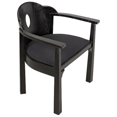 Kaiser Chair, Charcoal Black