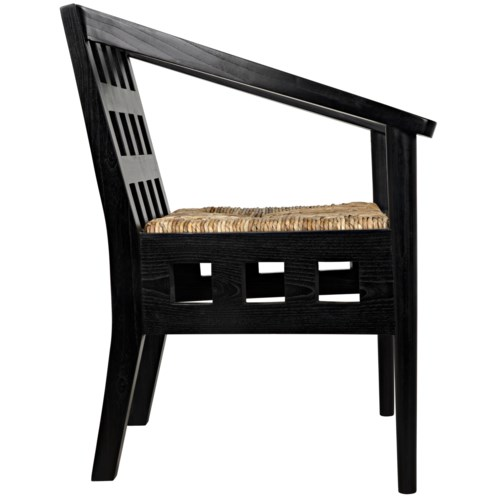 Humboldt Chair, Charcoal Black