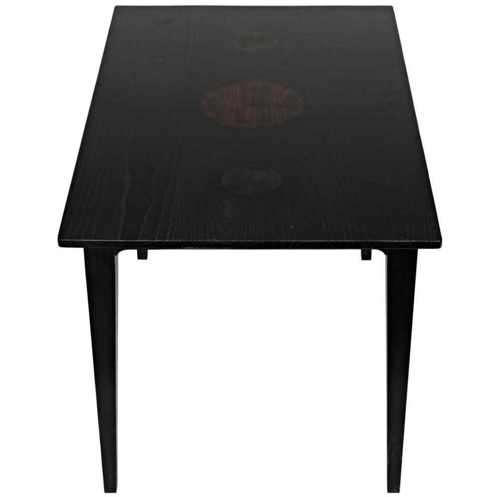 Daphne Desk, Charcoal Black