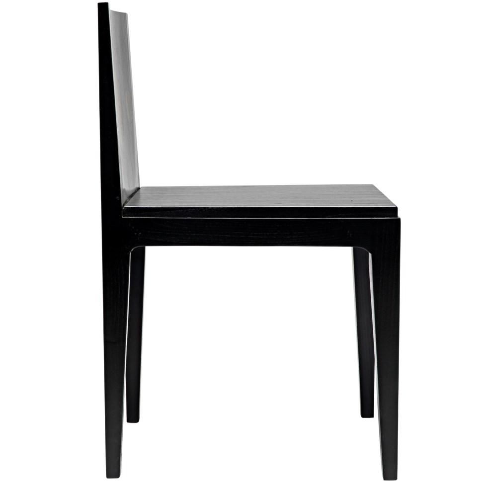 Daphne Chair, Charcoal Black