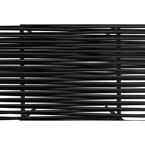Hitam Barstool W/Metal Frame