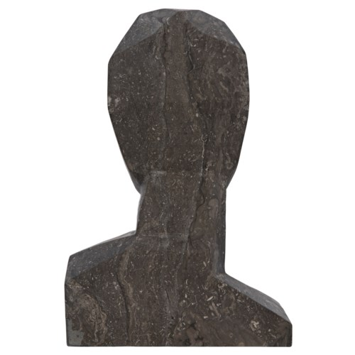 Z Abrasiv Sculpture, Black Marble